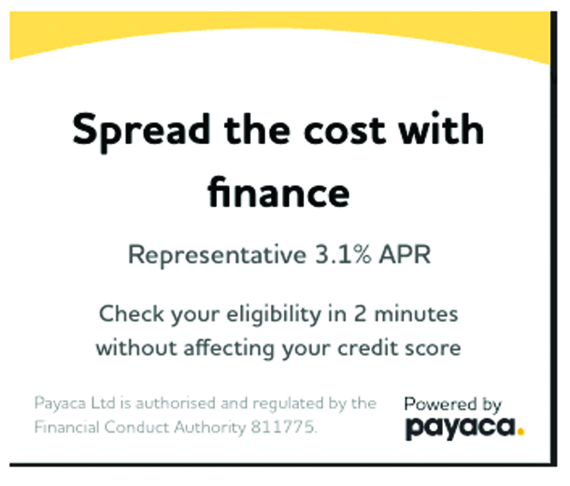 Garden room finance with Payaca